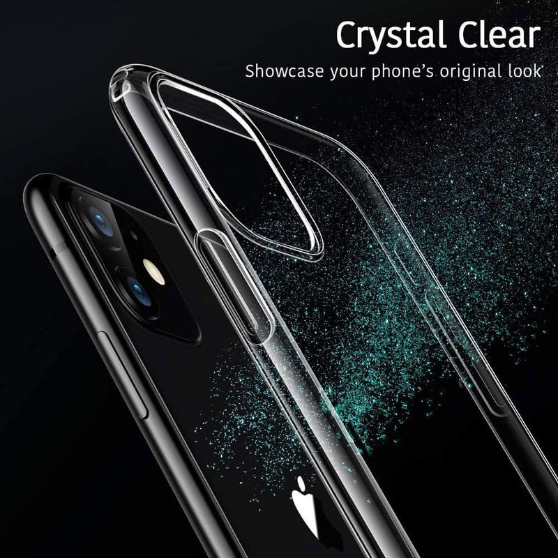 Apple iPhone 11 Soft TPU Case Crystal Clear Thin Cover