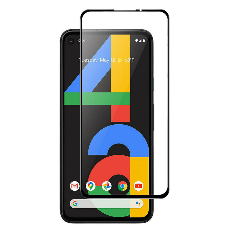 Google Pixel 4a Tempered Glass 9D Full Coverage / Glue