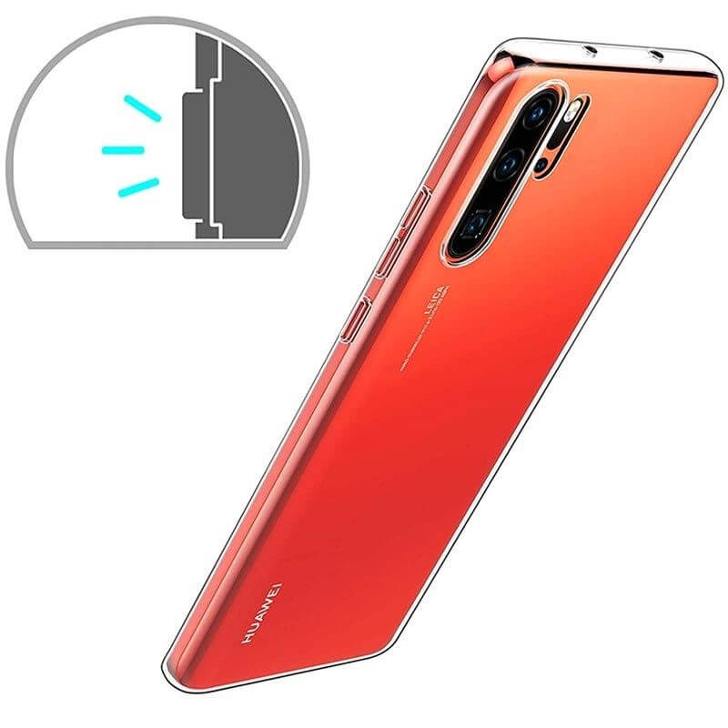 Huawei P30 Pro Soft TPU Case Crystal Clear Thin Cover