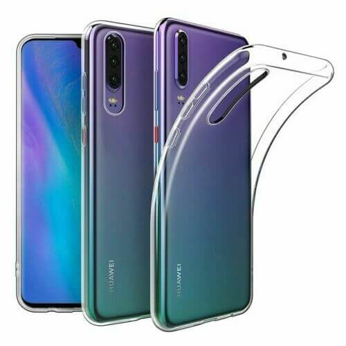 Huawei P30 Soft TPU Case Crystal Clear Thin Cover