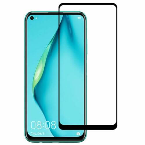 Huawei P40 Lite Tempered Glass 9D Full Coverage / Glue