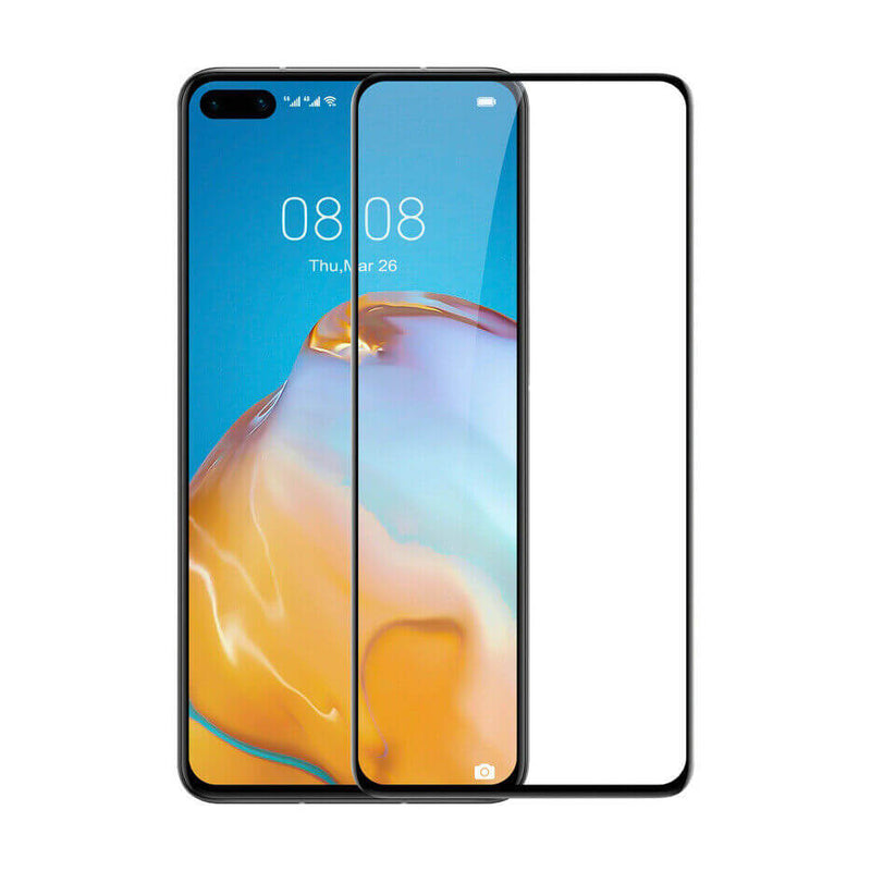 Huawei P40 Tempered Glass 9D Full Coverage / Glue
