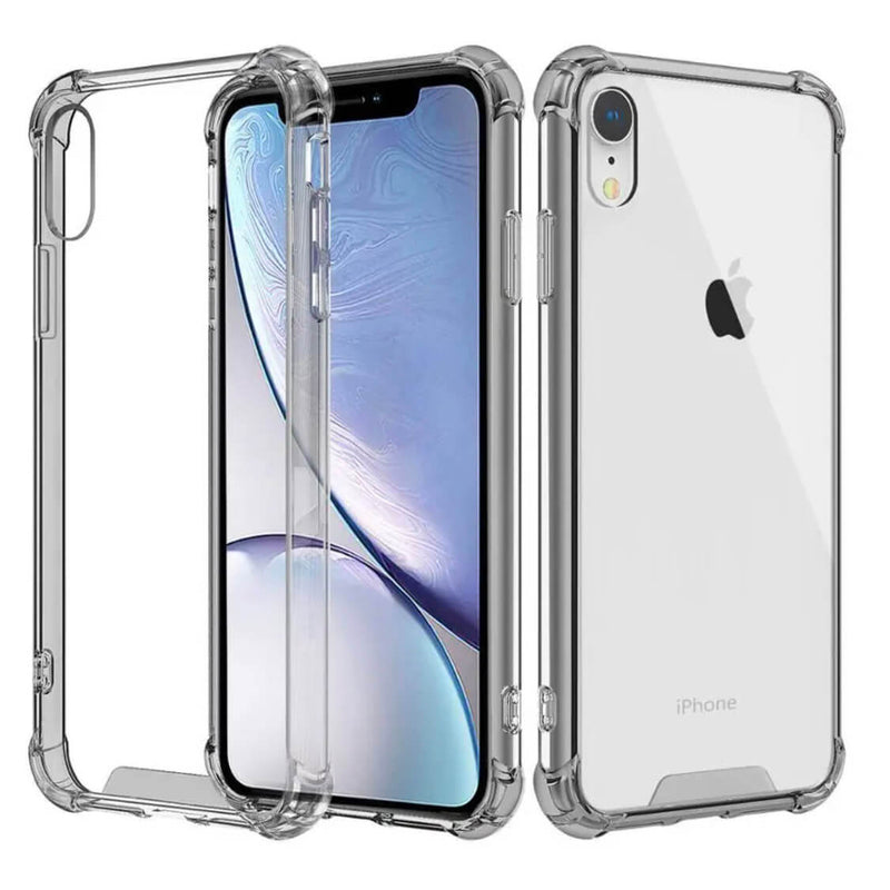 Apple iPhone XR Case Cover Clear ShockProof Soft TPU Silicone