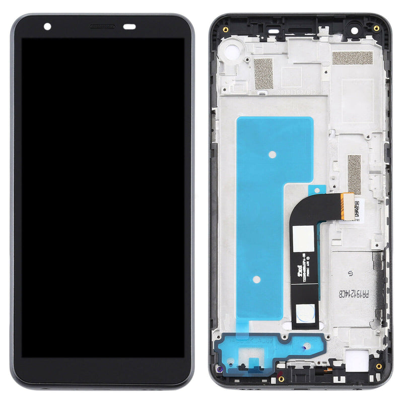 LG K30 2019 LCD Screen Replacement With Frame Black