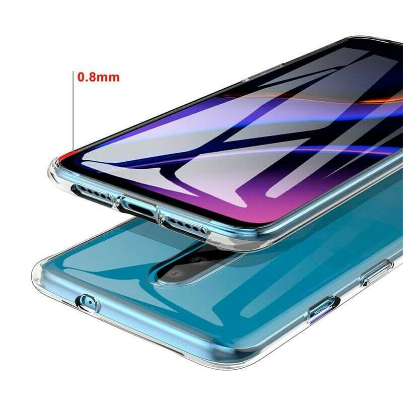 OnePlus 6T / 7 Soft TPU Case Crystal Clear Thin Cover