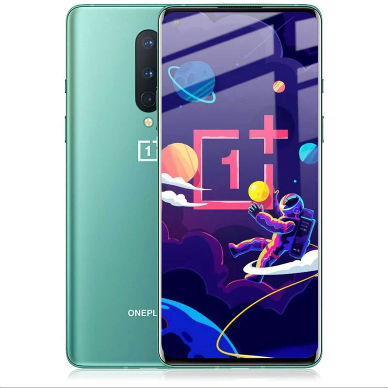 OnePlus 8 Full Coverage 9D Tempered Glass