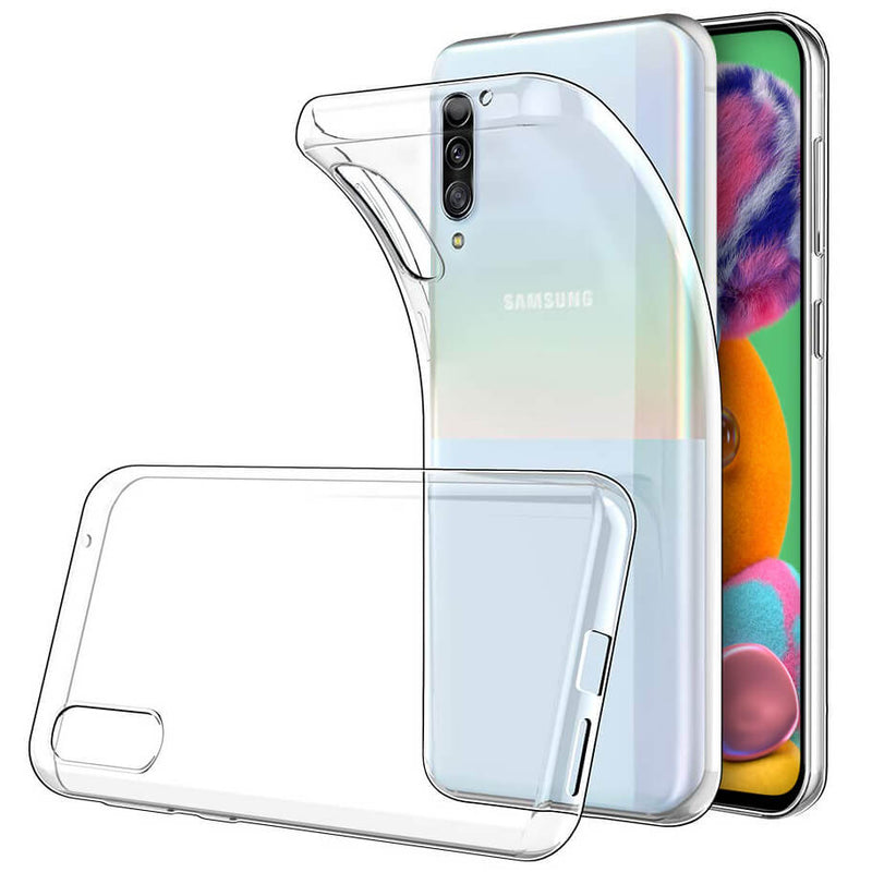 Samsung Galaxy A90 5G Soft TPU Case Crystal Clear Thin Cover