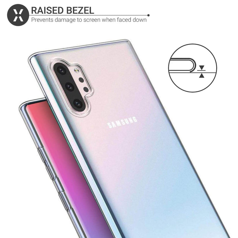 Samsung Galaxy Note 10+ / Note 10+ 5G Soft TPU Case Crystal Clear Thin Cover