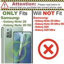 Samsung Galaxy Note 20 / Note 20 5G Full Coverage 9D Tempered Glass