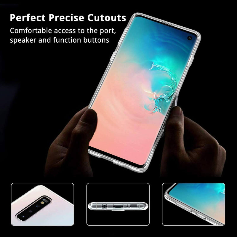 Samsung Galaxy S10+ Soft TPU Case Crystal Clear Thin Cover