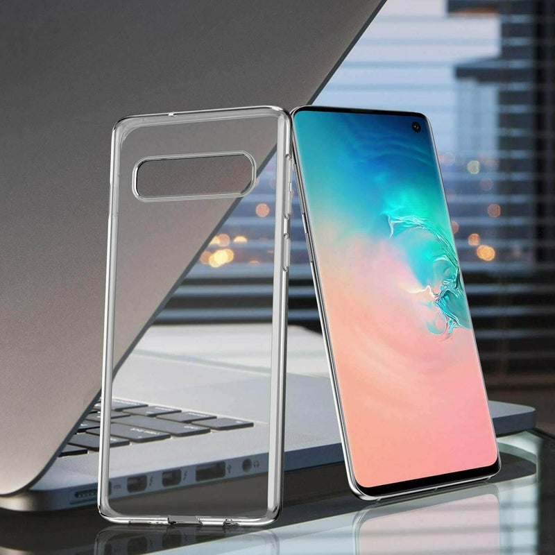Samsung Galaxy S10 Soft TPU Case Crystal Clear Thin Cover