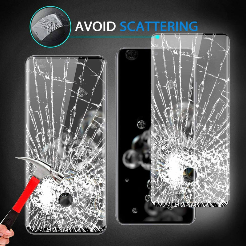Samsung Galaxy S20 Ultra & S20 Ultra 5G Full Coverage 9D Tempered Glass