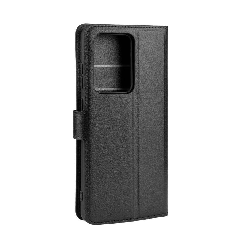Samsung Galaxy S20 Ultra / S20 Ultra 5G Wallet Case Cover PU Leather Black