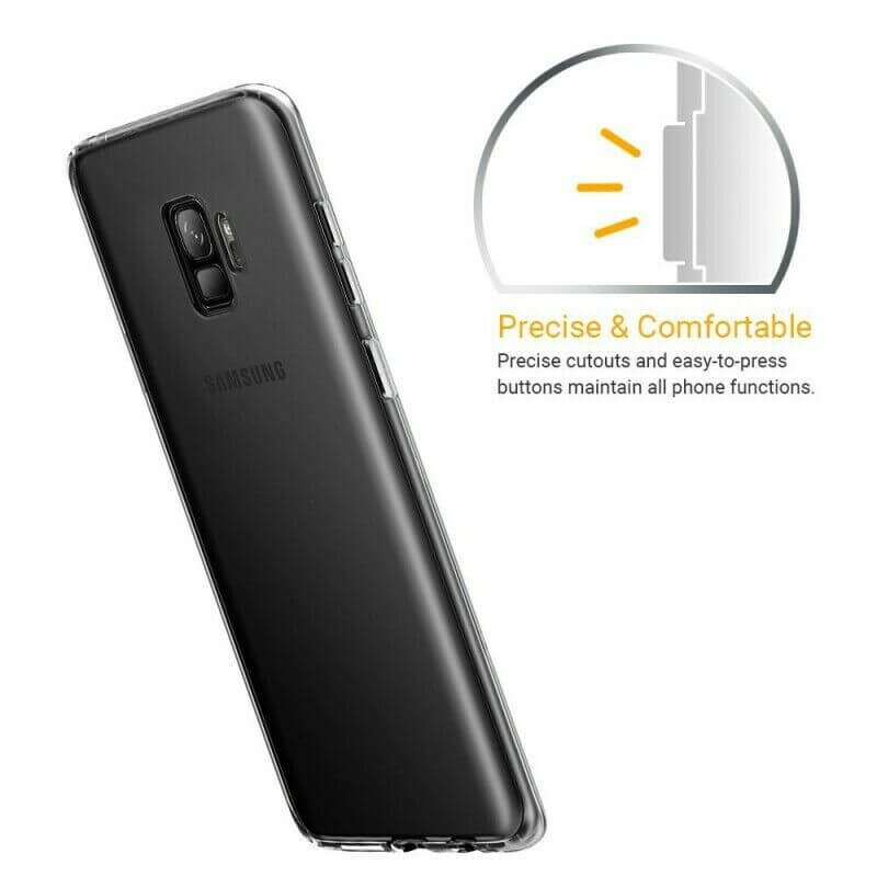 Samsung Galaxy S9 Soft TPU Case Crystal Clear Thin Cover