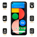Google Pixel 4a 5G Full Coverage 9D Tempered Glass