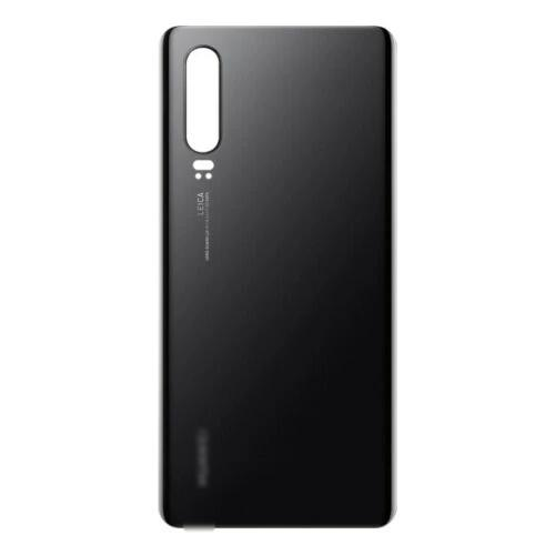 Huawei P30 Rear Battery Back Cover Glass Black for [product_price] - First Help Tech