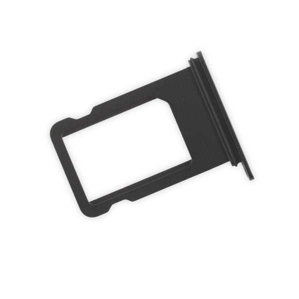Apple iPhone 7 - Nano SIM Card Holder Tray Slot Black for [product_price] - First Help Tech