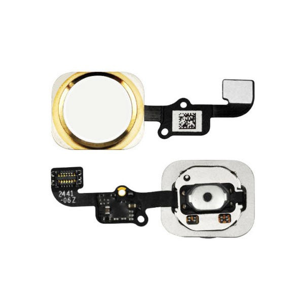 Apple iPhone 6 / 6 Plus Home Button Flex Cable - Gold for [product_price] - First Help Tech