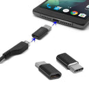 Micro USB Female to Type C USB Male Charger Adapter