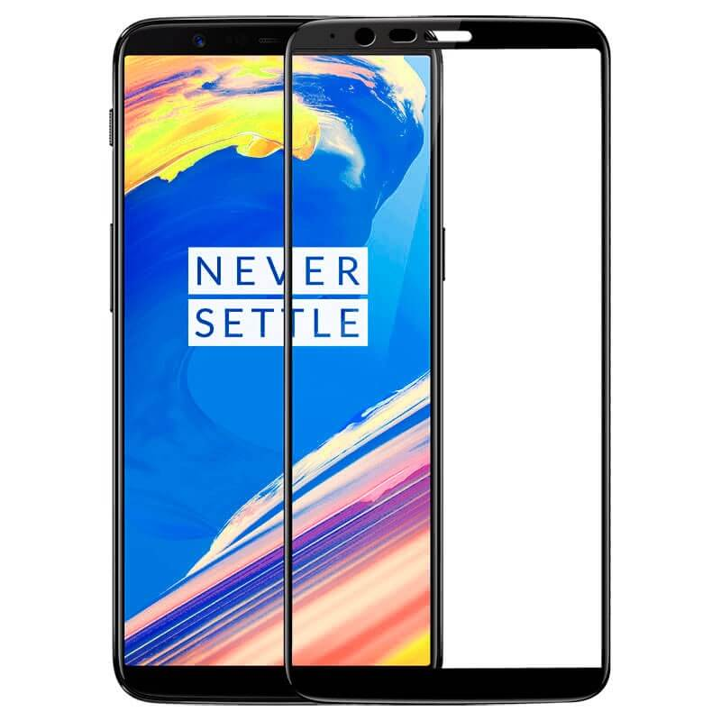 OnePlus 5T Full Coverage 9D Tempered Glass