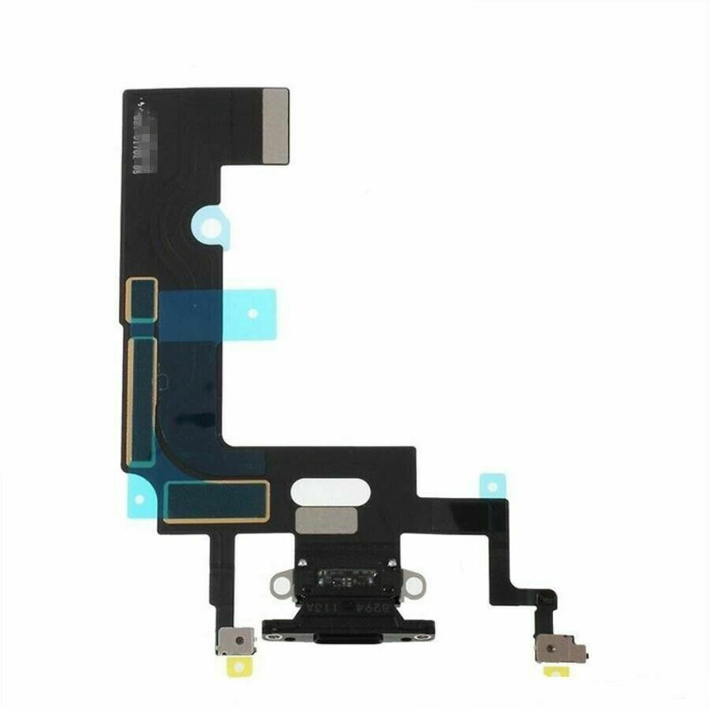 Apple iPhone XR Charging Port Flex Cable Black for [product_price] - First Help Tech