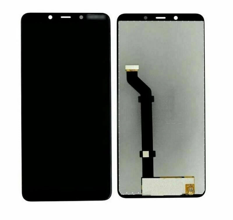 Nokia 3.1 Plus LCD Display Touch Screen Assembly Black for [product_price] - First Help Tech