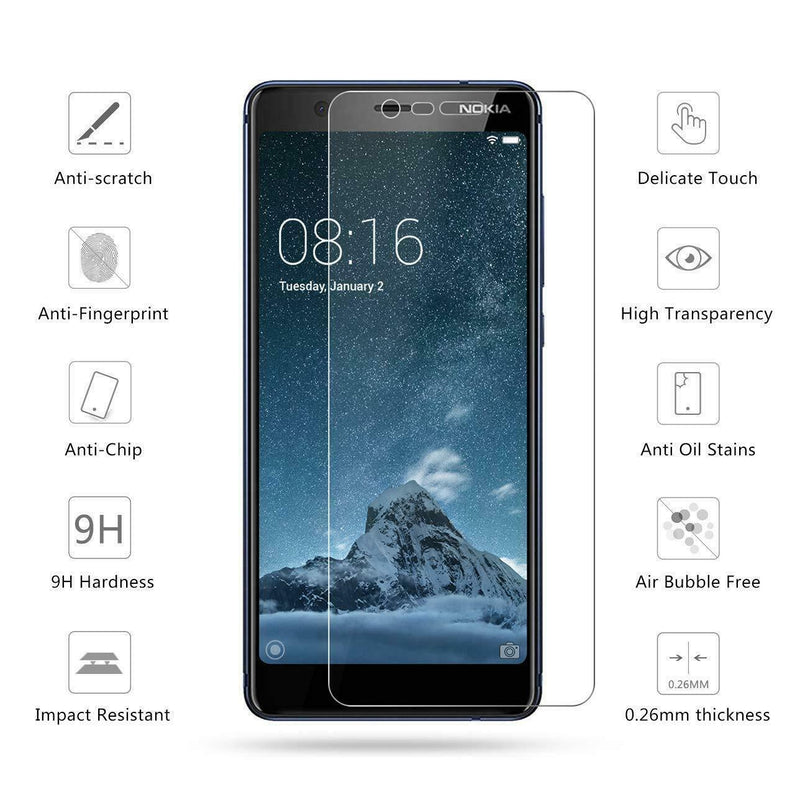 Nokia 5.1 (Nokia 5 2018) Tempered Glass for [product_price] - First Help Tech