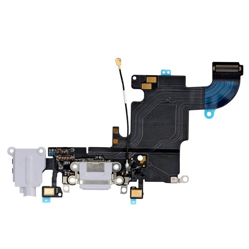 Apple iPhone 6s Charging Port Flex Cable - Grey for [product_price] - First Help Tech