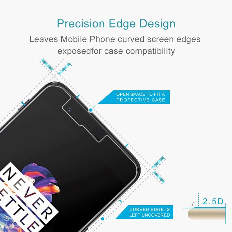 OnePlus 5 Premium Tempered Glass for [product_price] - First Help Tech