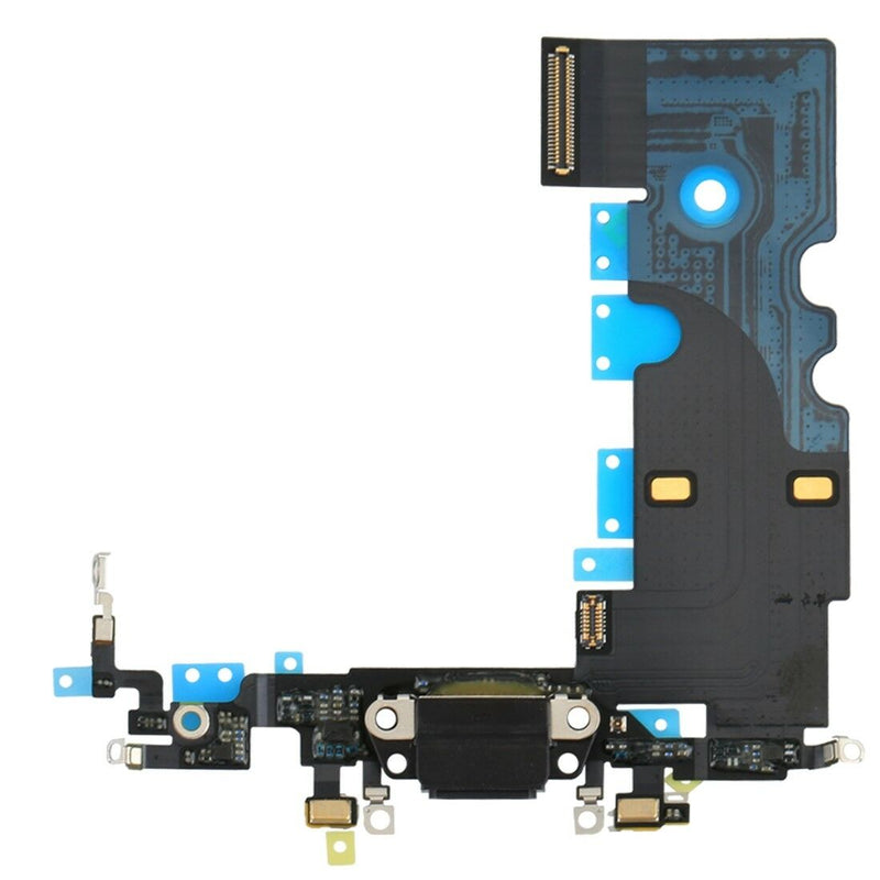 Apple iPhone 8 Charging Port Flex Cable - Black for [product_price] - First Help Tech