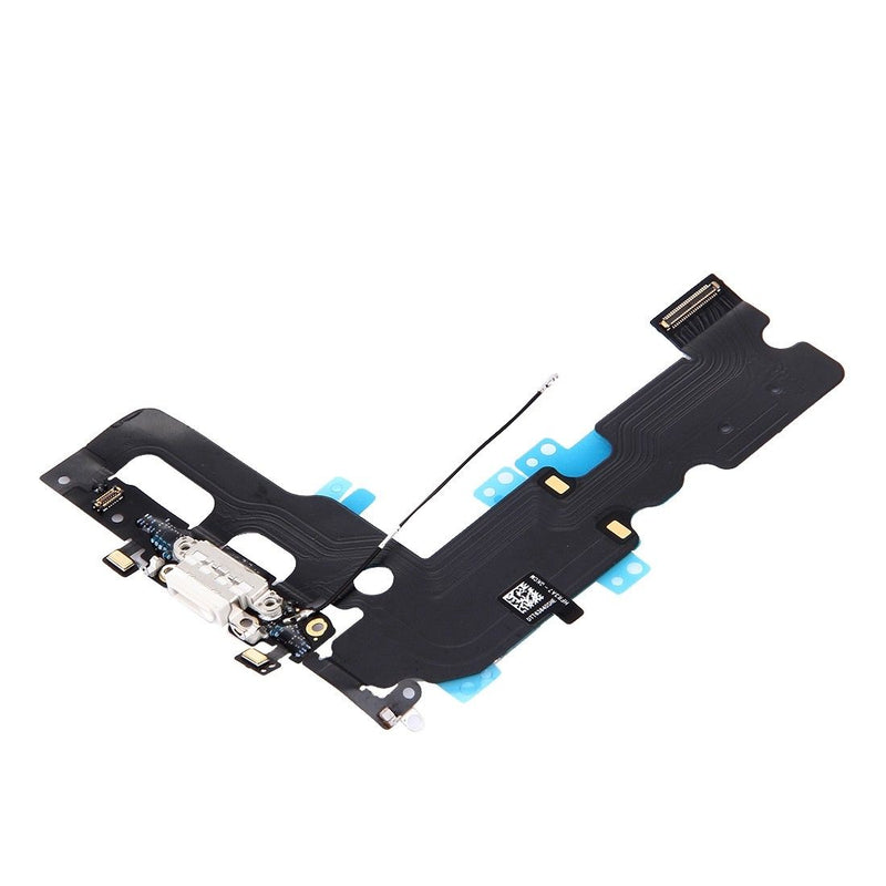 Apple iPhone 7 Plus Charging Port Connector Flex Cable - White for [product_price] - First Help Tech