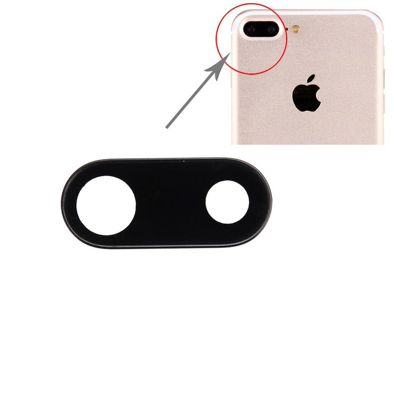 "Apple iPhone 7 Plus 5.5"" Genuine Rear Back Camera Lens Glass Cover Frame for [product_price] - First Help Tech"