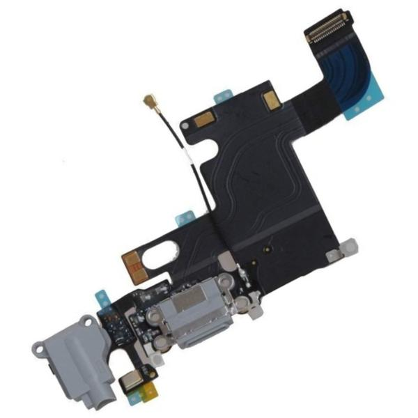 Apple iPhone 6 Charging Port Connector Flex Cable - Grey for [product_price] - First Help Tech