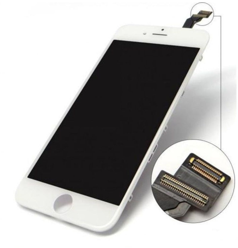 Apple iPhone 6 Replacement LCD Touch Screen Assembly - White for [product_price] - First Help Tech