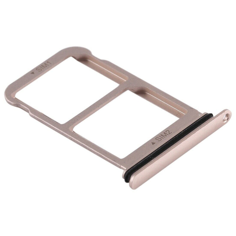 Huawei P20 Dual SIM Card Holder Tray Slot Gold & Waterproof Seal for [product_price] - First Help Tech