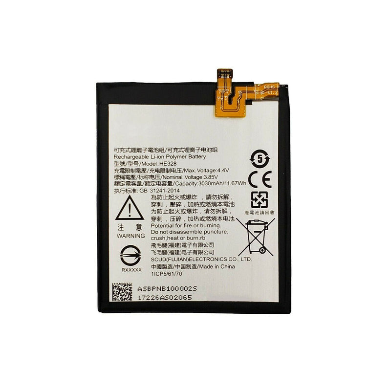 Replacement Battery For Nokia 8 - HE328