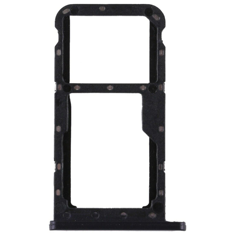 Huawei P20 Lite - Dual SIM Card Holder Tray Slot Black for [product_price] - First Help Tech