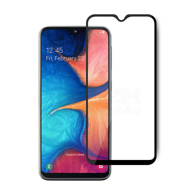 Samsung Galaxy A20e - 9D Full Coverage Tempered Glass for [product_price] - First Help Tech