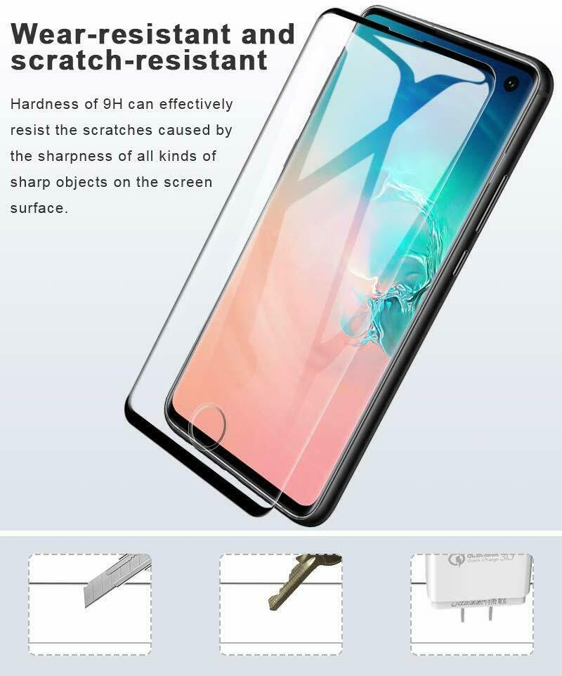 Samsung Galaxy S10 - 9D Full Coverage Tempered Glass for [product_price] - First Help Tech