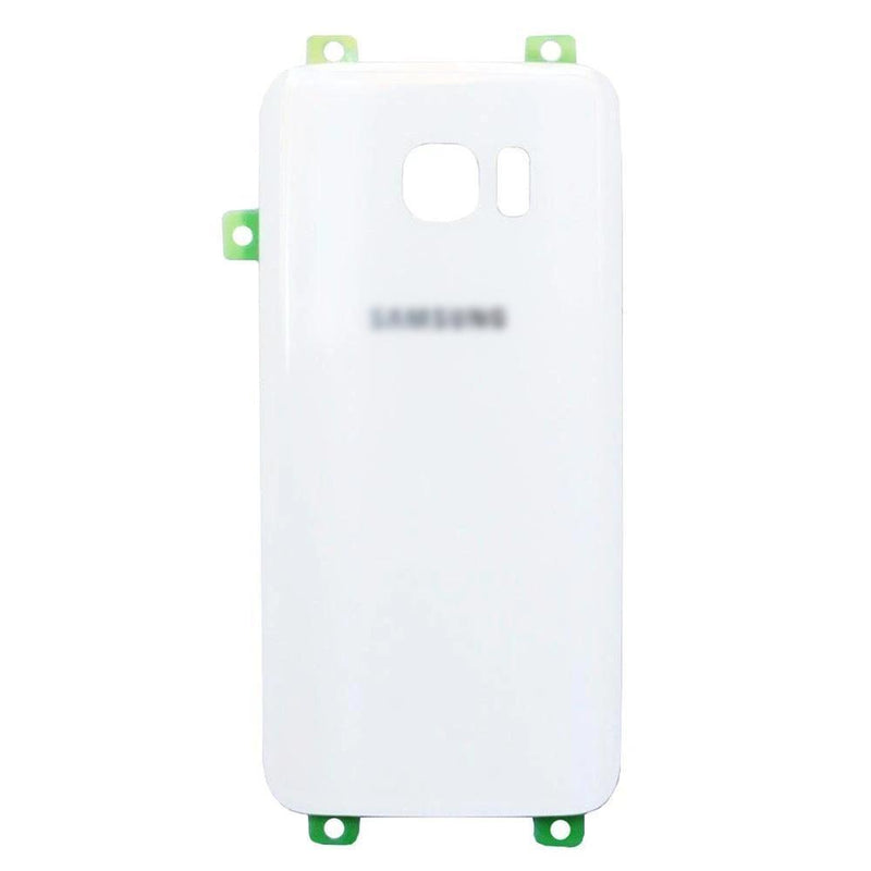 Samsung Galaxy S7 Edge Battery Cover Rear Glass With Adhesive White for [product_price] - First Help Tech