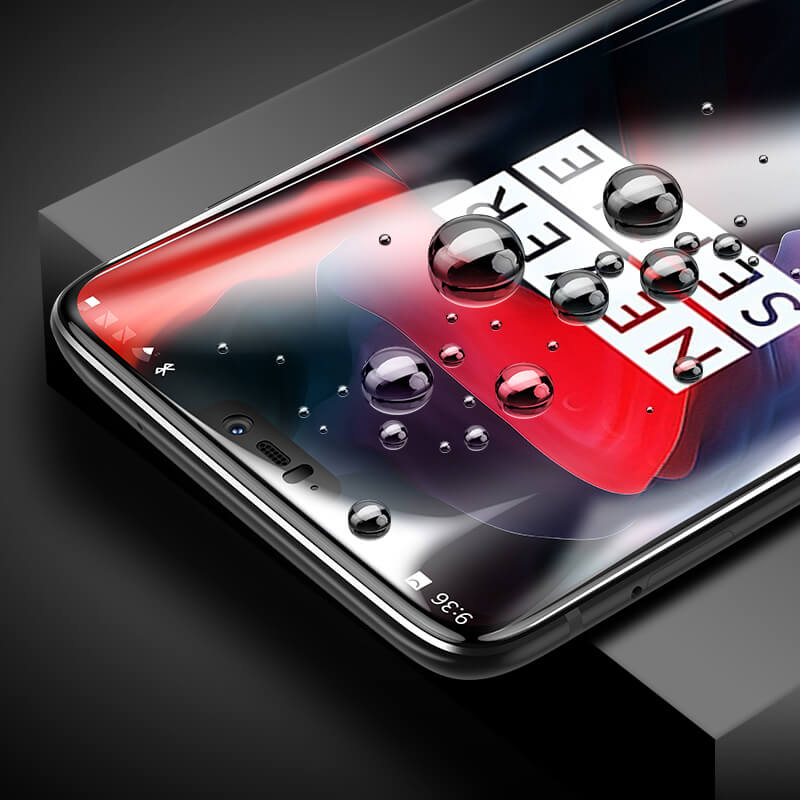 OnePlus 6 Full Coverage 9D Tempered Glass