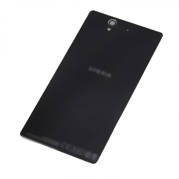 Sony Xperia Z Battery Cover Rear Glass Panel Black for [product_price] - First Help Tech