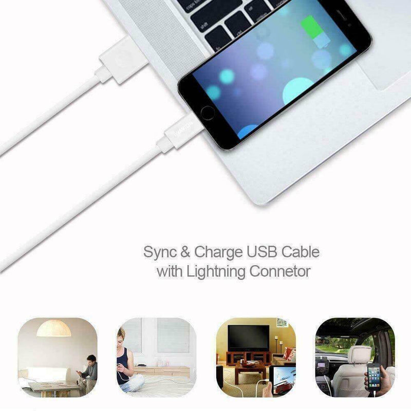 USB to 8 Pin Charging Data Sync Cable Lead 1m