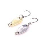 4pcs/lot 0.8g Small Fishing Lures Spoon Metal Lures Hard Baits