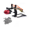 Hunting Fishing Slingshot Shooting Arrow Bow Sling Shot Set