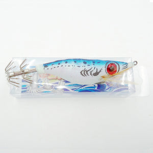 Basstrike Big Eye Squid Jig Lure Wood Shrimp Glow Bait