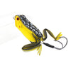 Basstrike General Topwater Popper Frog Lures with Double Trailer Hook