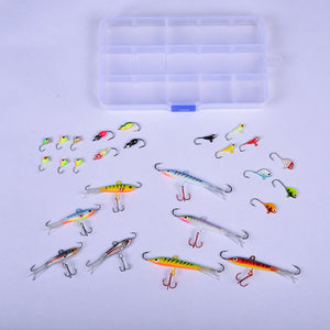 Basstrike Ice Jigs Tackle Box