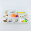 Basstrike Spoon Blade Hard Fishing Lure Baits Kit Box
