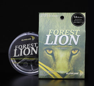 Elitelure Forest Lion Extraordinary Abrasion Resistance Nylon Fishing Line
